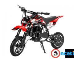 49cc Mini Dirt Bike Motorized Gas Motor Ride On Off Road Bike 2 Stroke Motor full