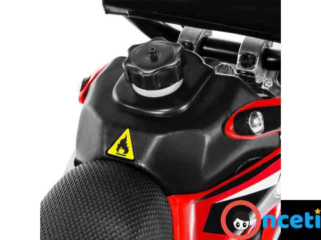 49cc Mini Dirt Bike Motorized Gas Motor Ride On Off Road Bike 2 Stroke Motor full - 4/4