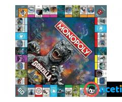 MONOPOLY GODZILLA Table Top Game, Board Game - Imagen 3/4