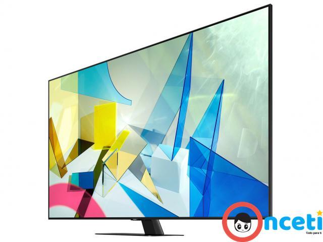 """Samsung Q80T 75"""" 4K Ultra HD HDR - 3/4"""