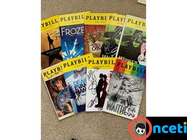 Hundreds of Signed Playbills - 1/4