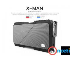 Portable Heavy Duty Waterproof Stereo Wireless Bluetooth Speaker with Powerbank